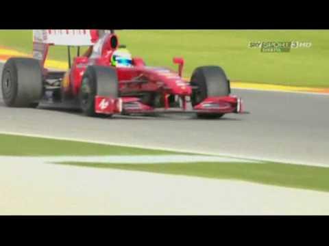Ferrari Finali Mondiali 2009 Felipe Massa (team radio)