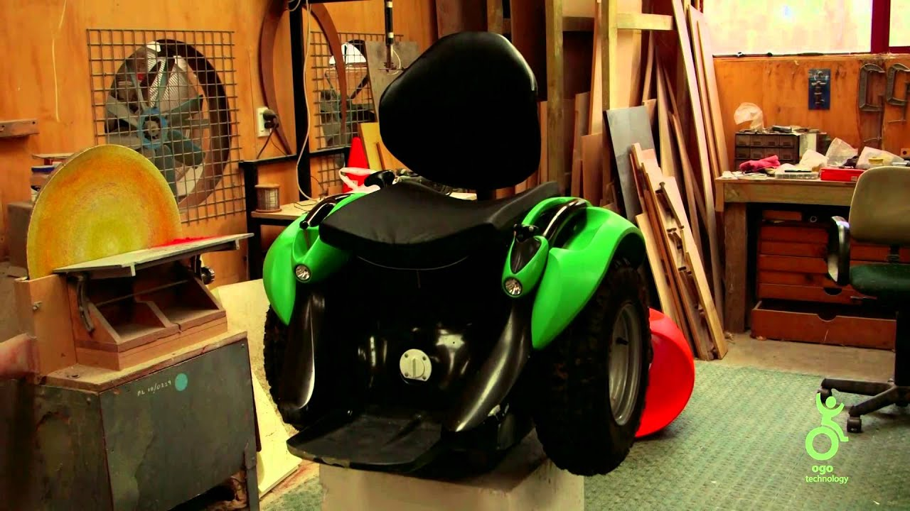 The Ogo Is A Badass New Kind Of Wheelchair