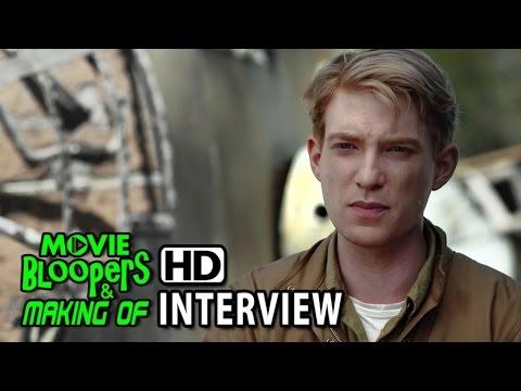 Unbroken (2014) Behind the Scenes Movie Interview - Domhnall Gleeson (Phil)