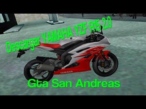 ★★LA MEJOR MOTO PARA TU GTA SAN ANDREAS.  YAMAHA R15 V2.0  2014 (HD) ★★