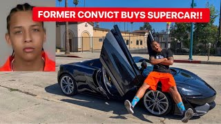 INMATE GETS OUT OF JAIL AND BUYS SUPERCAR!