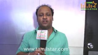 Music Dir   Jubin At Pazhaya Vannarapettai Movie Team Interview