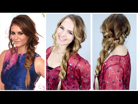 Nina Dobrev's Teen Choice Awards Side Braid