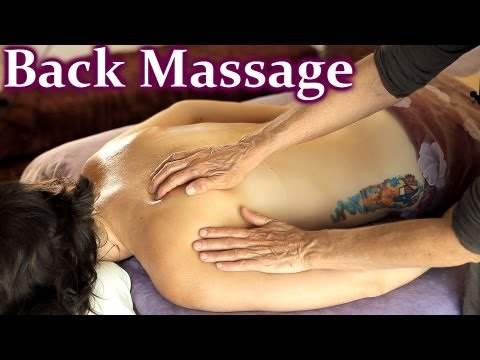 HD Back Massage Athena Jezik & Jen Hilman How To Instructional Relaxation ASMR
