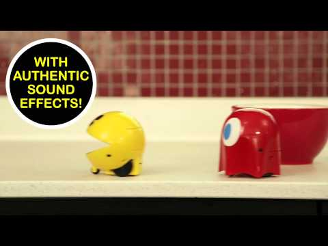 Pac-Man & Ghost R/C Set from ThinkGeek