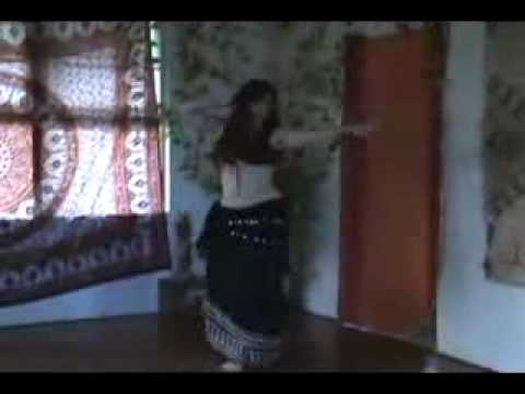 Ammar Egyptian Dance At Home.flv video