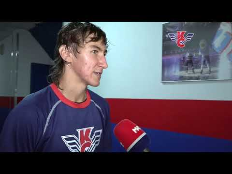 Артем Кокшаров #70 после матча КС-Канада (5:1)