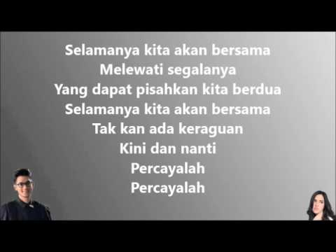 Afgan & Raisa - Percayalah (Lirik Video)