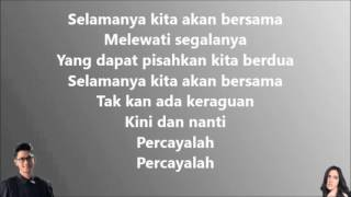 Afgan Raisa Percayalah Lirik Audio