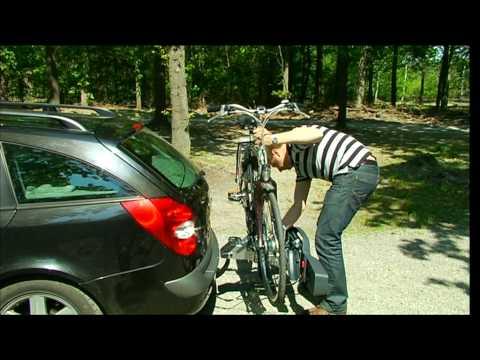 fiets op trekhaak