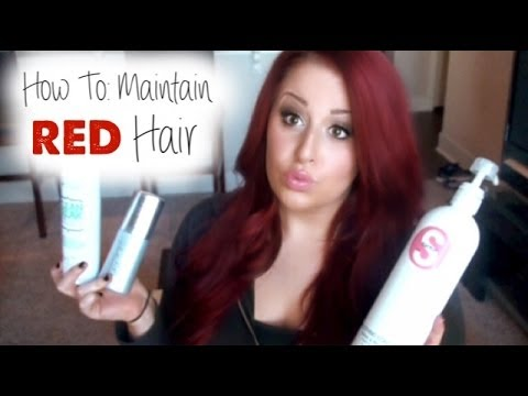 Updated ♥ Hair Care + Maintaining Red Hair