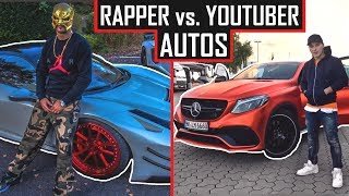 🚗 YOUTUBER vs. RAPPER - Wer hat die besseren AUTOS? 🚗 ApoRed, Leon Machere, Capital Bra, Nimo...