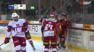 SCL Tigers vs Lausanne HC