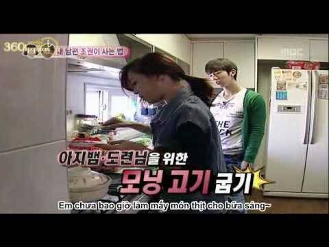[vietsub] We Got Married - Ep 04 Part 1 2 With Jo Kwon  2am & Gain  Begs [cuts] [360kpop] video