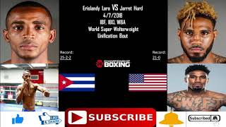 Erislandy Lara vs Jarret Hurd Super Welterweight Unification Title Bout
