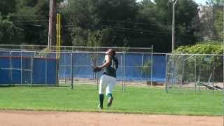 Haley Hernandez Softball Skills Video