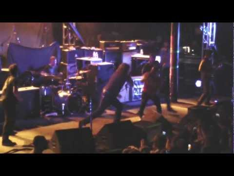 Dillinger Escape Plan 2011-11-05 Portland Oregon - sample with Brent Hinds of Mastodon
