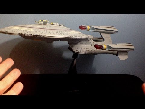 Diamond Select's Star Trek All Good Things Enterprise D Toy Review