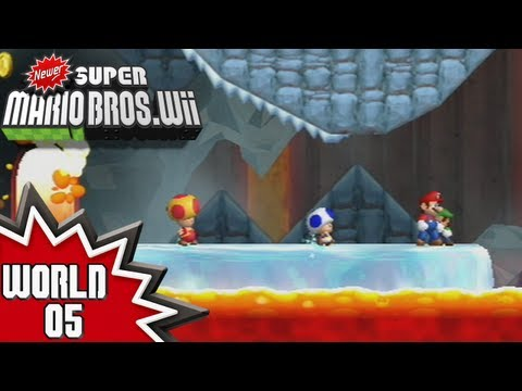 Newer Super Mario Bros. Wii - World 5 (2/2)
