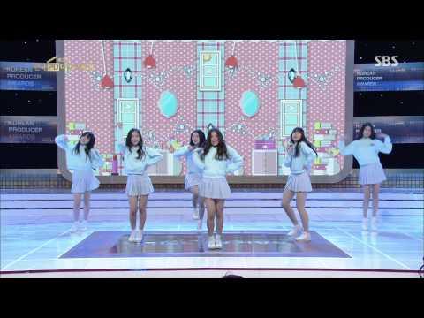 150313 GFriend - Glass Bead @ SBS 27th Korea Producer Awards