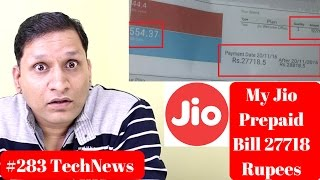 #284 My Jio Bill 27718, MeizuX, Mi MiX White, LeEco Cool, Zuk Edge, Tesla Self Driving, Paint 3D,