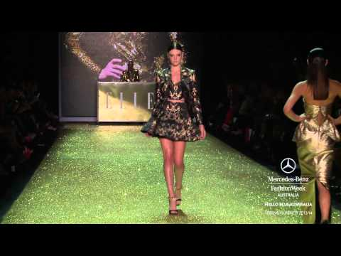 HELLO ELLE AUSTRALIA - MERCEDES-BENZ FASHION WEEK AUSTRALIA SPRING SUMMER 2013/2014 COLLECTIONS