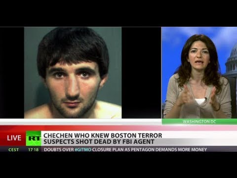 FBI shoots dead Chechen linked to Boston terror suspects