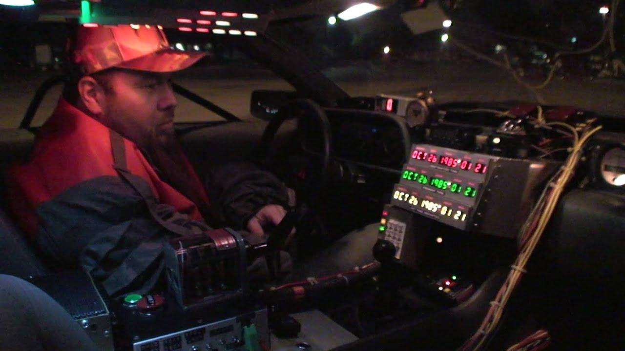 BTTF Delorean Time Machine Replica For Sale - YouTube