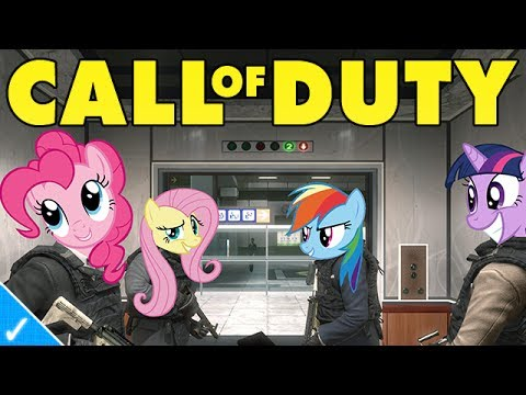 My Little Pony Plays Mw3 video