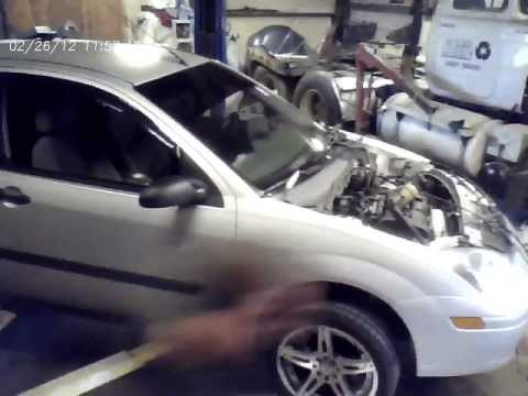 Time lapse of Engine Swap Ford Focus 2.0L DOHC Very cool time lapse video