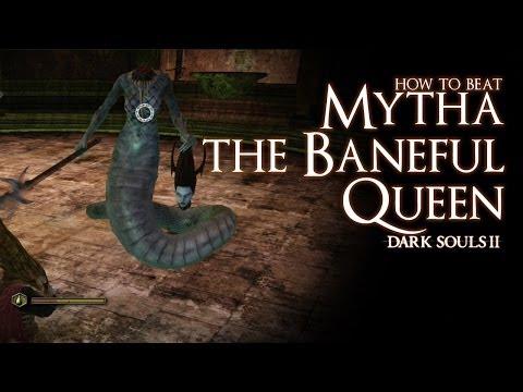 How to Beat Mytha the Baneful Queen boss - Dark Souls 2