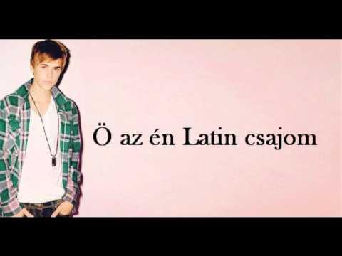 Justin Bieber -latin Girl Magyar Felirat hungarian Subtitle video