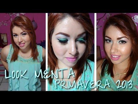 *MINT EYES: Look en menta tendencia de PRIMAVERA 2013*