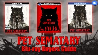 Pet Sematary (2019) Blu-ray Release Date | Buyers Guide | Best Buy 4K SteelBook