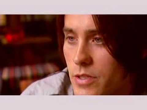 lauren hastings jared leto. Jared Leto, Etalk Interview