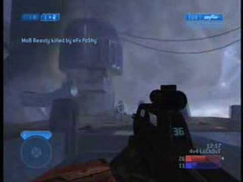 Check out - thehaloinsider.com This is a great Halo 2 gameplay video of team