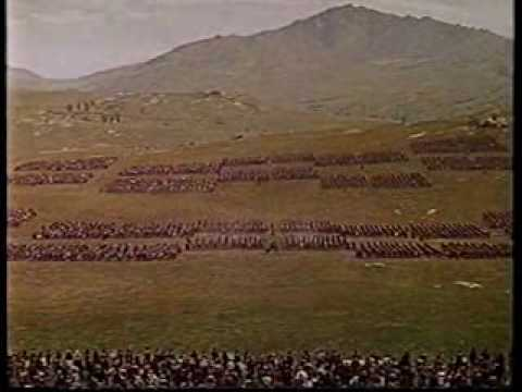 Spartacus Battle Scene video