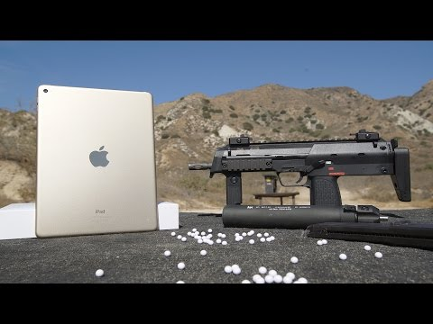 iPad Air 2 Bend Test vs Airsoft