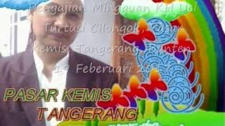Pengajian Mingguan KH Uci turtusi Cilongok, Pasar Kemis, Tangerang, Banten. 19 Februari 2017