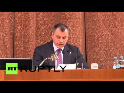 Russia: Crimean Parliament approves new constitution