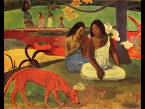 "Paul Gauguin - ""Arearea"" (Bildbetrachtung) 1/2"