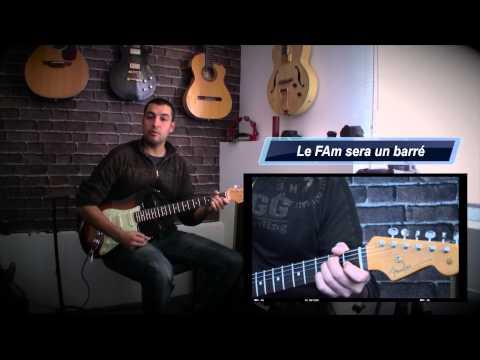 6- Cours de guitare - Les accords Mineurs Ouverts à 3 sons