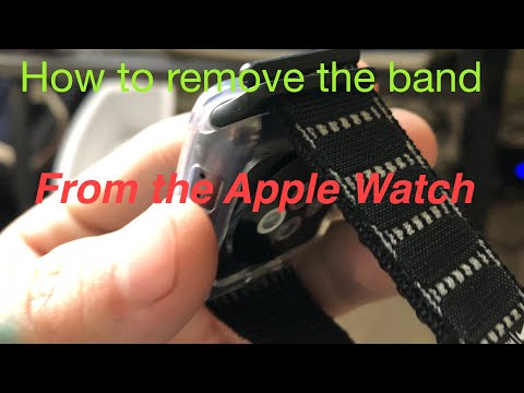 How to remove the band from your Apple Watch
