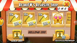 Selling 200:  Axe | Hay Day Game play