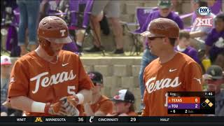 Texas vs TCU Baseball Highlights - Game 3