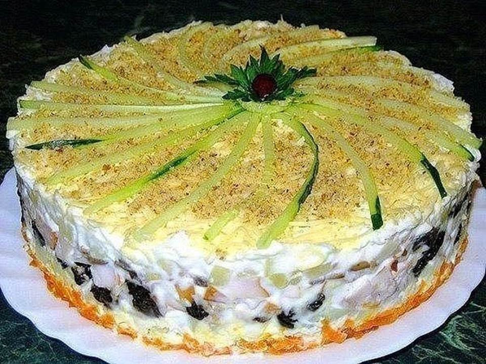 Торты салаты рецепты