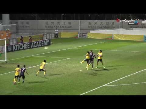 2017/04/17 2016-2017 �港���賽Hong Kong Premier League ��2:0 �港�馬Kitchee 2:0 Hong Kong Pegasus http://www.hkfa.com/ch/match/22771 @LeSports News.
