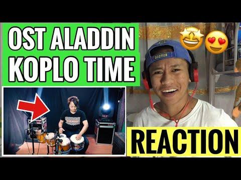 Download A Whole New World OST Aladdin dangdut version REACTION Mp4 baru