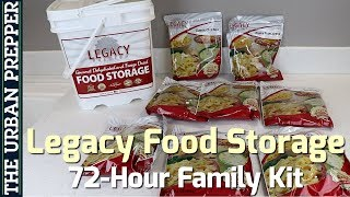 Legacy Food Storage: 72-Hour Family Kit Review