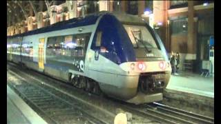 Railway stations SNCF,Seclin,Lille Flandres and Lille Europe.avi
